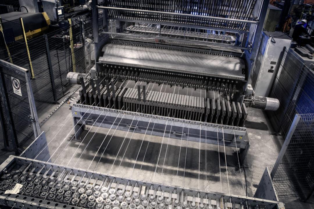 Produktion armeringsnät