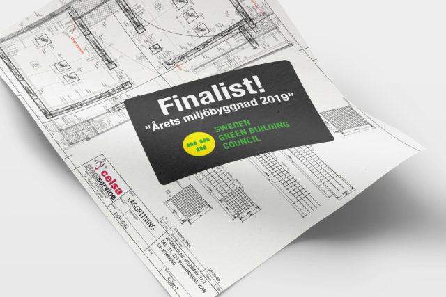 Årets miljöbyggnad 2019 - finalist